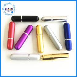 Meilleur voyage flacon pulvérisateur portatif parfum rechargeables en aluminium vides l'atomizer