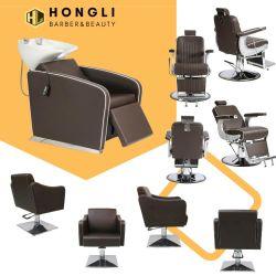 La clásica silla de barbero Royal confortables muebles de Salon Salon Package