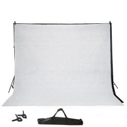 O algodão Preto Branco Azul cor sólida fundo da fotografia espessar