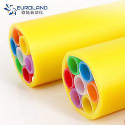 Le PEHD 7 façons 14/10mm Micro le conduit pour câble à fibre optique