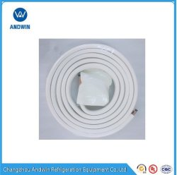 エアコンの絶縁体の管は1HP-5HPの銅ラインセット、ACインストール管をセットする