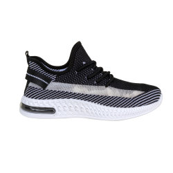 Nouveau Style Flyknit lumière Chaussures hommes de sports avec Mesh