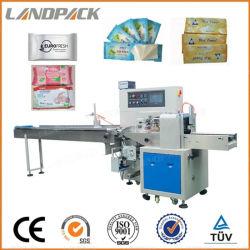 آلة تغليف آلية للحفاضات/حفاضات الأطفال آلة التعبئة والسعر تدفق التغليف للمنتج العادي