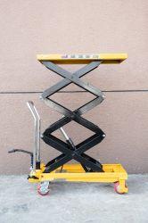 Movimentazione manuale della piattaforma di sollevamento a forbice/carrello con tavolo di sollevamento
