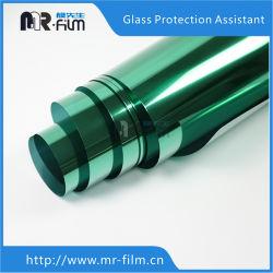 Transição da Luz de Prata à prova de bala edifício do hotel animais de elementos decorativos de cor verde na janela Solar de vidro de filme