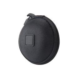 Schwarze wasserdichte harte Shell-bewegliche fördernde Geschenk-Kasten-elektrische Zubehör Shockproof EVA-Kopfhörer-Kasten