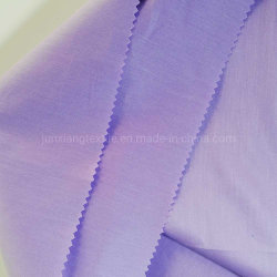 Хлопок полиэстер спандекс CVC упругой силы ткань моды футболка ткань