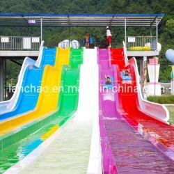 Vielbahniger Regenbogen-wellenförmiges Wasser-Plättchen für Aqua-Park