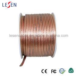 Ofc Cable de altavoz con PVC transparente