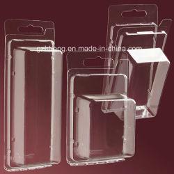 Kundenspezifisches transparentes Geschenk-Kasten-Bildschirmanzeige-Behälter HAUSTIER Plastikgeschenk-verpackenkasten u. Beutel-Spielzeug