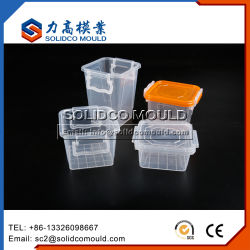 Cajón de inyección de plástico caso Armario armario de la caja de almacenamiento de moldes de contenedores