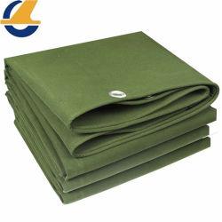 Heavy-Duty Canvas Material, Gute Luftdurchlässigkeit, Wasserdicht, Sonnenschirm, Mehltau-Schutz 100% Army Green Cargo Polyester Baumwolle Segeltuch Tarpaulin Tarp