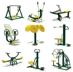 Unieke Kids Body Building Gym oefening Sportpark Volwassenen Staal Fitnessapparatuur buiten