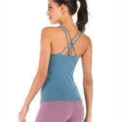 卸し売りプライベートラベルの衣類のタンクトップの女子体操の一重項