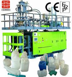 جهاز إعداد زجاجات مياه بلاستيكية سعة 5 جالوون سعة 20 لتر مع جهاز صنع زجاجات ماكينة قالب التصريف