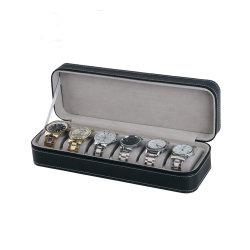 Best Selling Black Luxury Assista a caixa do Organizador Caixa de relógio