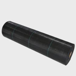حصيرة تحكم منسوجة من مواد الدفيئة المصنوعة من مواد PP / حصيرة الغطاء الأرضي غطاء أرضي للحلية البلاستيكية بالقماش / البلاستيك الأسود الزراعي