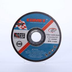 4.5''عجلة قطع المعادن و Inox مع شهادات MPA