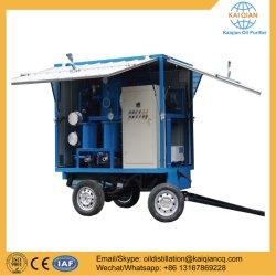 Ty-C50 Type de remorque vide purificateur d'huile du transformateur