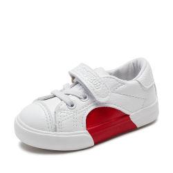 2019 automne bébé cuir synthétique occasionnel d'Enfants de chaussures de sport mode Sneaker blanc bébé fille formateur Toddler 2197