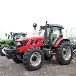 Trattore agricolo 4X4/trattore 140HP/condizionatore d'aria universale della carrozza del trattore