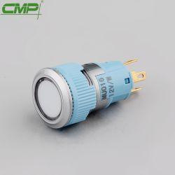 シグナルランプ16mmのプラスチックパネルの表示燈