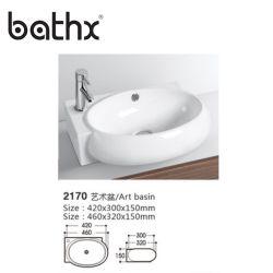 Standard Export emballage sanitaire Ware artistique lavabo lavabo salle de bain Décoratif
