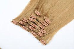 """Vínculo de queratina Cabelo humano Extensions U ponta da unha verdadeira Remy Pré colados Platina cabelo loiro 16"""" 18"""" 20"""""""