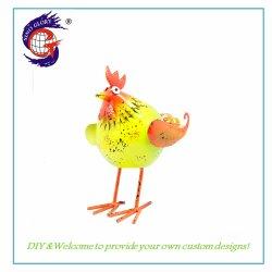 Metal Small Chicken Home Decoration Crafts Met Huis Decore