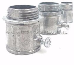 Connettore per lo zinco elettrico del condotto di EMT, Al, ferro