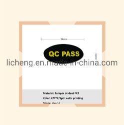 24x11mm étiquette auto-adhésif de gros QC Pass Void Ouvrir autocollants autocollant annuler la garantie en cas de dépose des étiquettes de sécurité