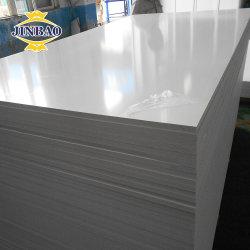 Jinbao 15mm Panneau de paroi externe haute densité 3mm blanc de 8 mm en PVC souple Celuca Forex élargi du Conseil de mousse