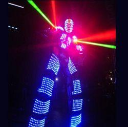Roboter-Kostüm des neuen Produkt-2019 leuchtendes LED für Tanzen-Leistung