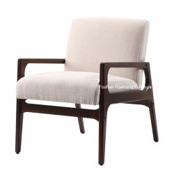 Salle à manger de gros Président Hotel Restaurant Chaises Chaises en bois de chêne solide tissu des chaises en bois