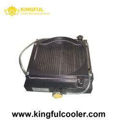 China-Luft abgekühlter Aluminiumhydraulikölkühler mit hydraulischem Motor