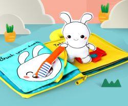 Ткань книг для детей и подарок ребенка ткань книги печать