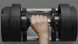 Nuevo ajustable multifuncional pesa 20kg-32kg-80lb fuerza comercial de equipos equipos de gimnasia