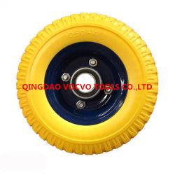 8-дюймовый полиуретановая пена резиновыми колесами для буксировки прицепа