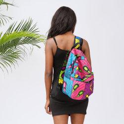 2021 сумки через плечо разноцветных африканских студентов печати Travling моды повседневный рюкзак