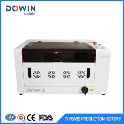 Tampo da mesa de Casamento Laser Cartão Convite máquina de corte de madeira em acrílico de tecido CO2 máquina de gravação a laser CNC 60W