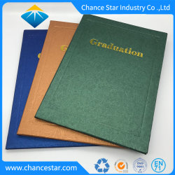 El logotipo de la lámina personalizada Diploma de Graduación de papel cubre