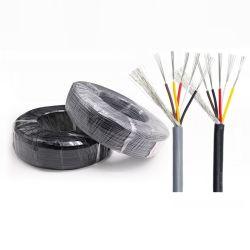 Câble métallique isolant en PVC Multi Core ordinateur USB de l'alimentation électrique de commande du signal audio fil blindé