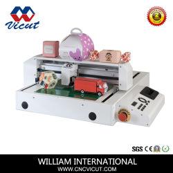 Traceur de vinyle de la faucheuse à plat numérique carton/film/fibre/coupe-papier
