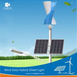 Indicatore luminoso di via ibrido di energia solare LED del vento di Maglev di fuori-Griglia di piacere