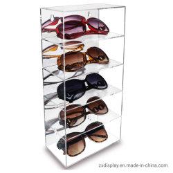5 Schichten Acryl Wand montiert Spielzeug Modell und Sonnenbrillen Display Regal
