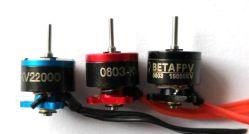Berufsfertigung des verschiedenen Uav-Drohne-Motors, der kleinste 5mm Drohne-Motor