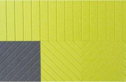 Gerillte, 100 % Polyester-Glasfaser (PET) akustische Wandplatine für die Schalldämpfung im Büro