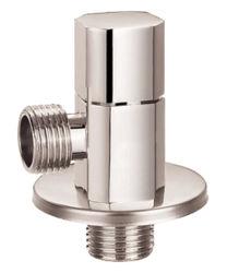 Serviço de água de alta qualidade com válvula de ângulo de latão cromado e de polimento