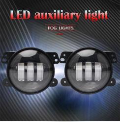 نظام الإضاءة الأوتوماتيكية، مصباح LED إضافي، مصباح ضباب 4 بوصات مصباح دورة سيارات Jeep Truck