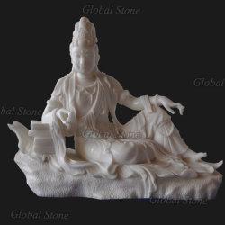Kundenspezifische Steinbuddha-Marmorstatue (GSS-247)